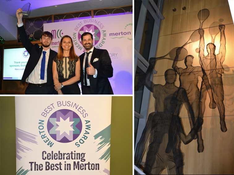 Art Division Best Business Under 50 Employees Award Winner 2018 - Art Division triumphs in Best Business under 50 Employees category at this year's Merton Awards