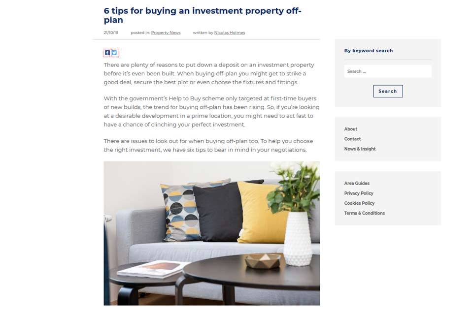 blog content - How to use content marketing to grow your property business?
