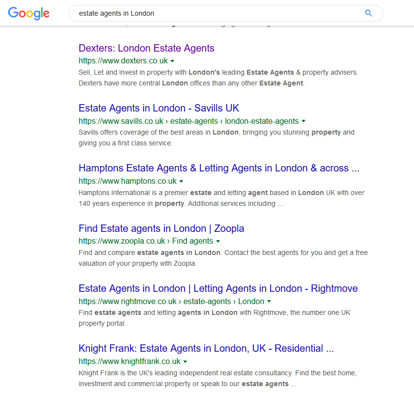 estate agents google - How to use content marketing to grow your property business?
