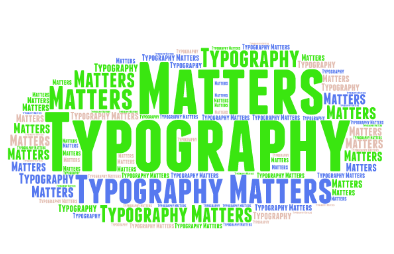 typography matters - How good design can influence your visitors – and drive results